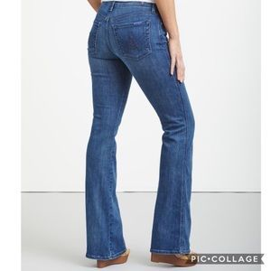 7 for all Mankind A Pocket Flare Jeans Sz 29
